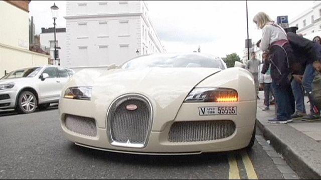 Londra: Gürültü kirliliğine yol açan lüks otomobiller hedefte