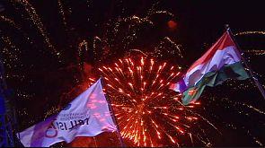 Avrupa Gençlik Olimpiyatları Festivali'nden görkemli kapanış