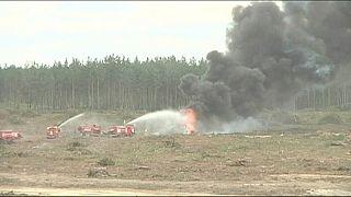 Rusya'da helikopter yere çakıldı: 1 pilot öldü