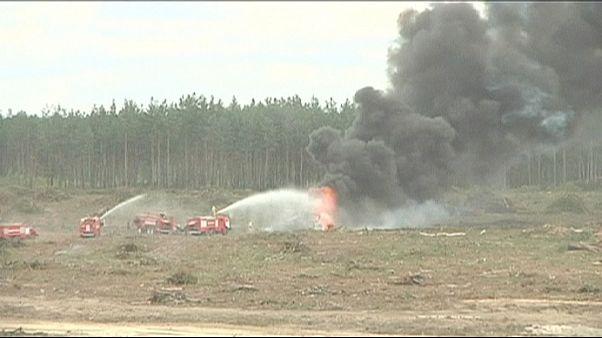 Halálos helikopter-baleset egy orosz katonai bemutatón