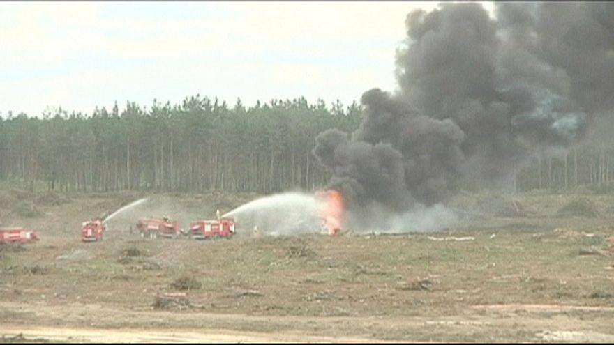 Un hélicoptère s'écrase lors d'un tournoi aérien en Russie