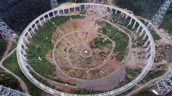 China looks skywards with construction of huge telescope