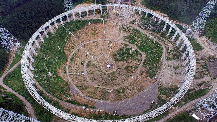 30 futballpálya nagyságú antennát épít Kína