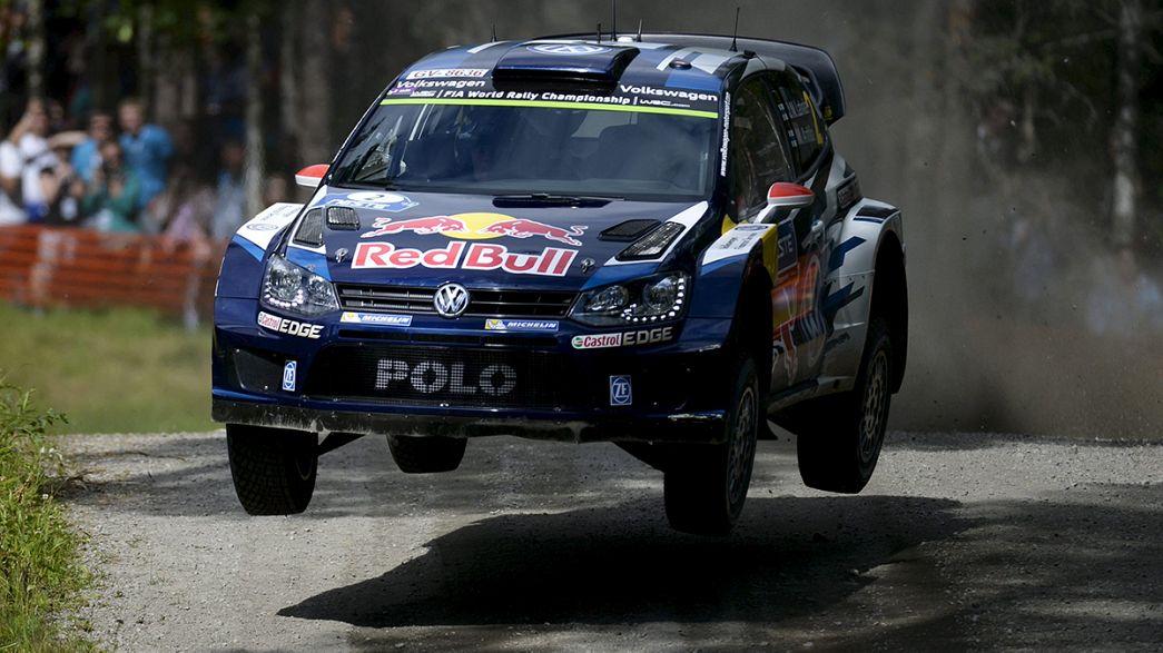 Jari-Matti Latvala gana el Rally de Finlandia