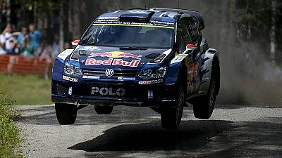 Latvala edges out Ogier in Finland