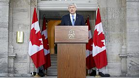 Canada PM Stephen Harper announces October 19 election