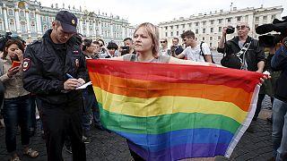 Des militants homosexuels arrêtés à Saint-Pétersbourg