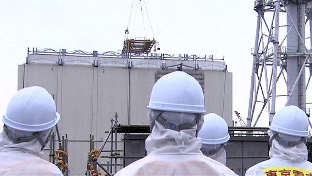 Fukuşima'da üç numaralı reaktör sökülmeye başlandı