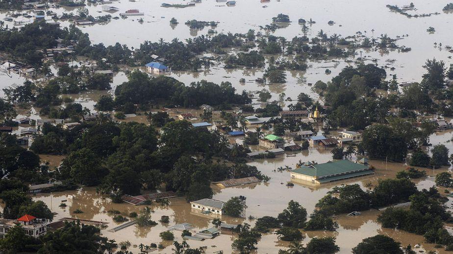 Inondations meurtrières en Birmanie