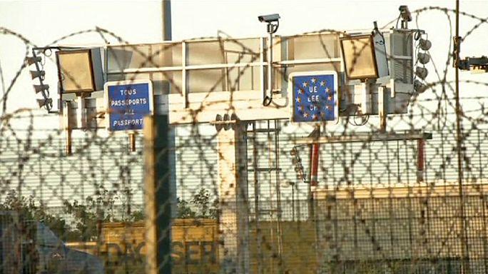 Calais'teki göçmen trafiği korkutuyor