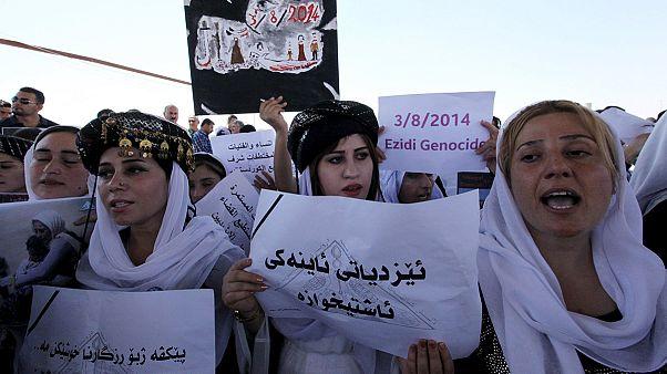 Yezidi katliamının üzerinden bir yıl geçti