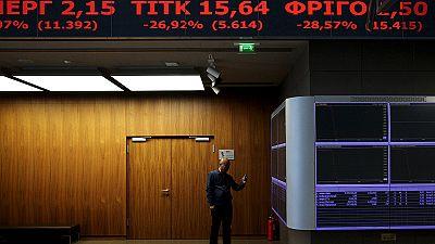Börse in Athen wieder geöffnet – Blutbad mit Ansage