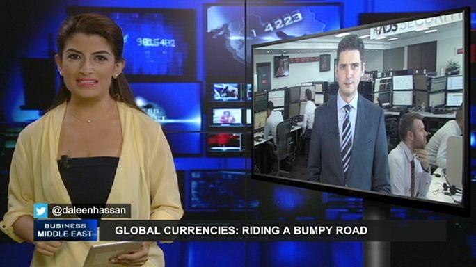 Currencies riding a bumpy road