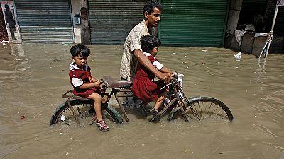 Más de 180 muertos y cinco millones de desplazados en la India a causa de las fuertes lluvias