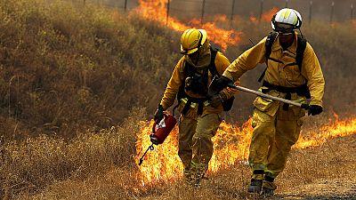 La Californie reste la proie des flammes