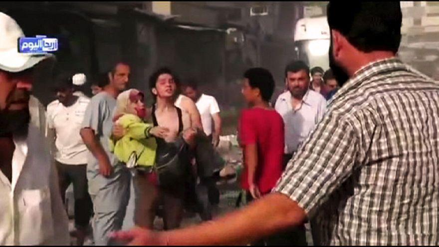 Suriye uçağı pazara düştü