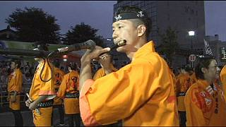 El Nebuta Festival comienza en Japón