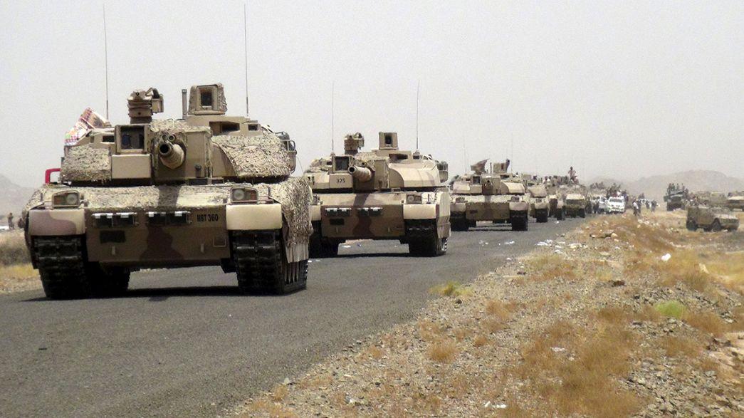 القوات اليمنية والمقاومة الشعبية تستعيد قاعدة العند الجوية