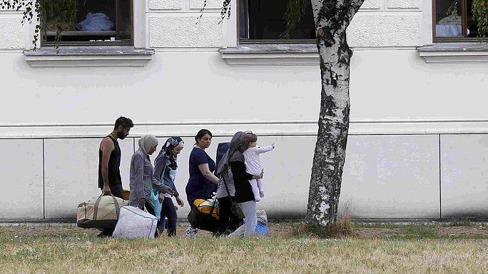 Австрия. Центр по приему беженцев не справляется с наплывом
