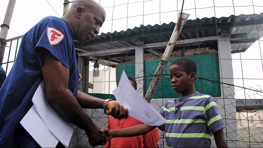 یونیسف: بخاطر ابولا ۷۰ هزار کودک لیبریایی شناسنامه ندارند