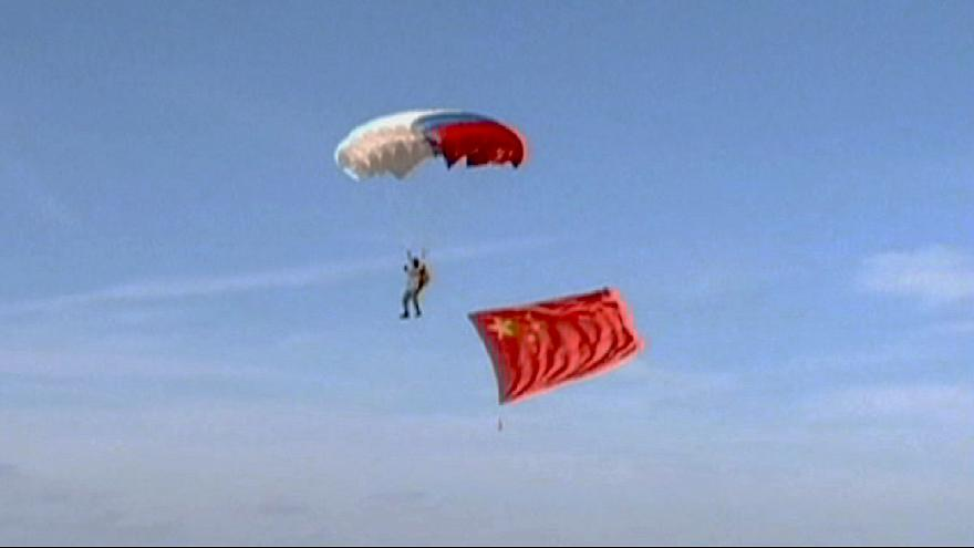 China flexes its military muscle