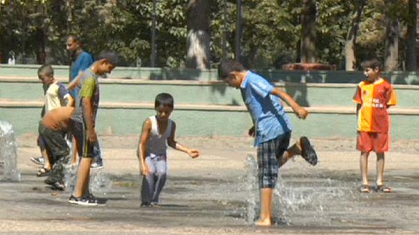 Рекордная жара от Европы до Дальнего Востока
