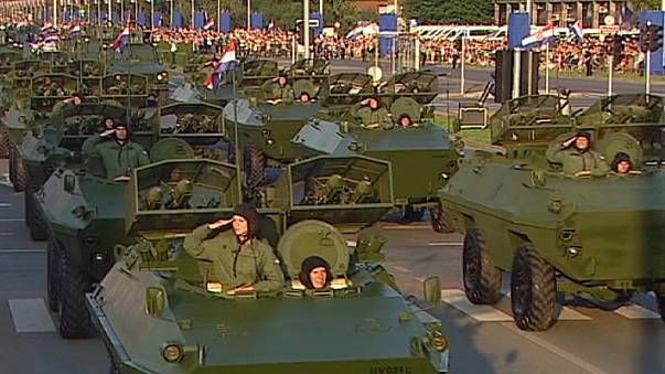 """La Croatie et la Serbie célèbrent de manière différente, les 20 ans de l'opération """"Tempête"""""""