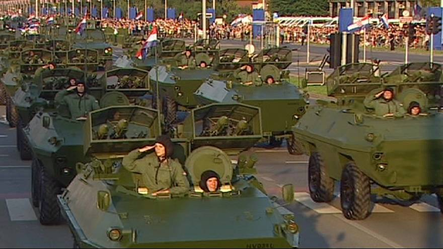 La Croazia festeggia i 20 anni dall'offensiva militare per la sua indipendenza