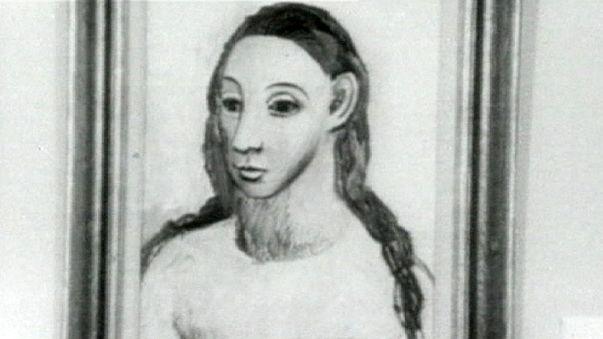 Kaçırılmaya çalışılan Picasso tablosuna el konuldu