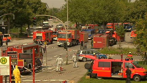 Hamburg: dozens injured in former air raid shelter fire