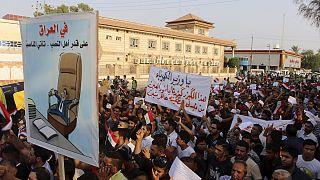 عراق؛ مردم در اعتراض به قطع برق و کمبود آب تظاهرات کردند