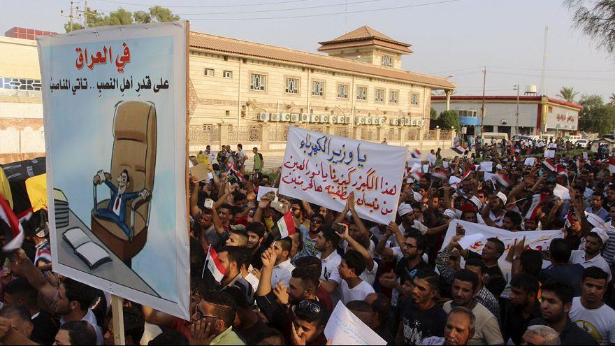 Ιράκ: Διαμαρτυρία για τις διακοπές ρεύματος εν μέσω καύσωνα