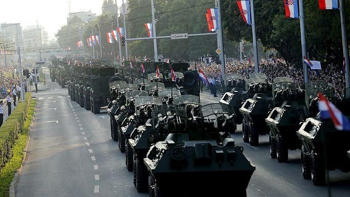 La Croatie commémore le vingtième anniversaire de la libération du pays