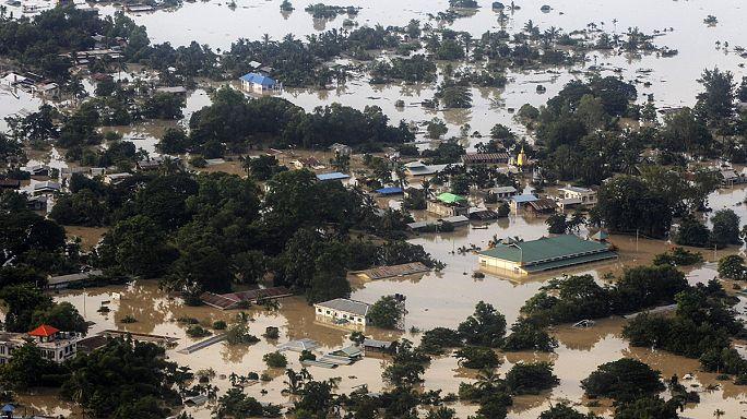 Myanmar'dan sel sonrası yardım çağrısı