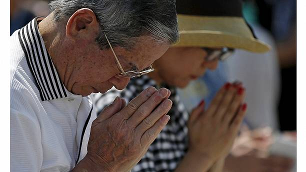 Hiroshima 70 years on: Survivors remember horror of nuclear bomb