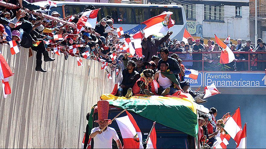 Bolivia: día de la independencia se convierte en protestas en Potosí