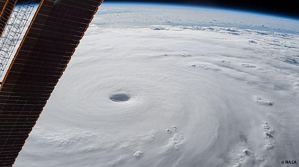 Soudelor, le plus puissant cyclone de 2015, vu depuis l'ISS