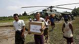 Überschwemmungen: Myanmar bittet Welt um Hilfe