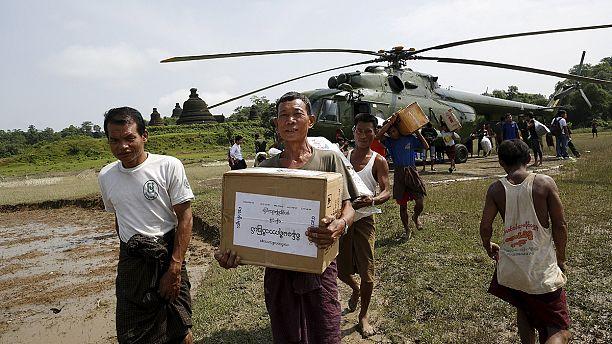 Myanmar floods: International community responds to calls for aid