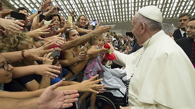 Pope Francis calls for church to welcome back divorced couples