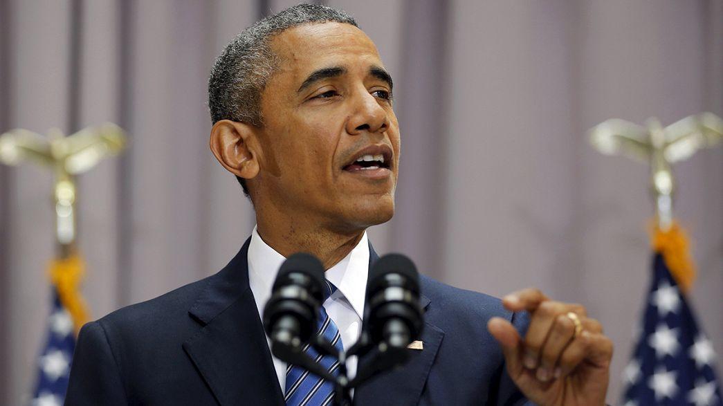 """أوباما :"""" رفض الكونغرس للاتفاق النووي مع طهران يعني الحرب """""""