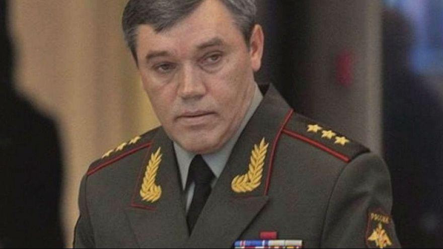 Ukrayna Rusya Genelkurmay Başkanı Gerasimov'dan davacı