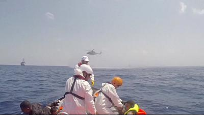 Erneutes Flüchtlingsunglück im Mittelmeer: Mehrere Hundert Tote vermutet