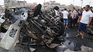 Bagdad: két autóba rejtett pokolgép robbant