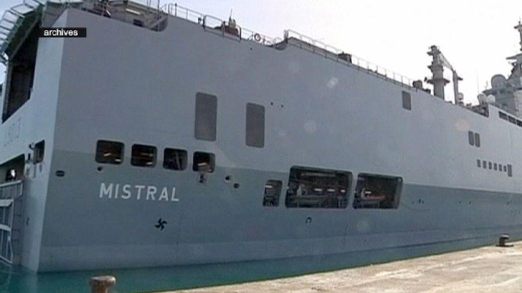 """Streit um Kriegsschiffe beigelegt: Keine """"Mistral""""-Lieferung an Russland"""