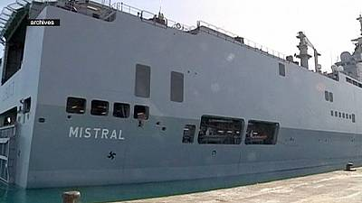 France and Russia resolve Mistral warship dispute