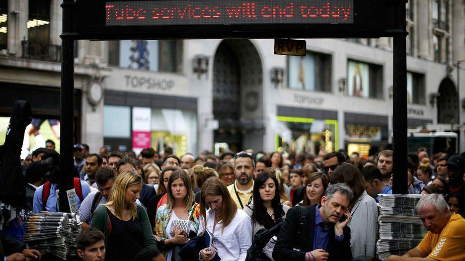 Grève du Tube : la corvée des transports londoniens