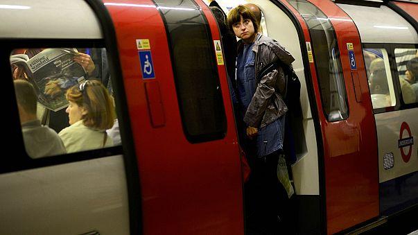 Londra metrosunda grev, kentte trafik felç oldu