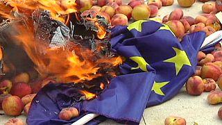تحریم بین المللی مسکو؛ دودی که به چشم اتحادیه اروپا می رود