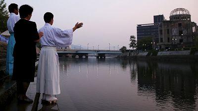 Japan gedenkt heute der Opfer des Atombombenabwurfs vor 70 Jahren